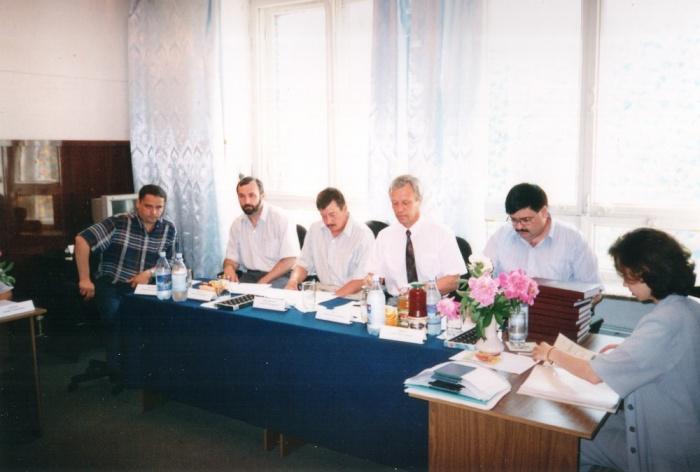 ГАК на первой защите дипломов в ИИТ. Председателем является  Лисс Александр Рудольфович, д.т.н., проф., Санкт-Петербуржского Электротехнического университета.